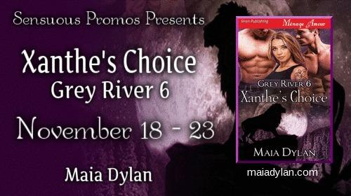 Maia Dylan - Xanthe Book Tour